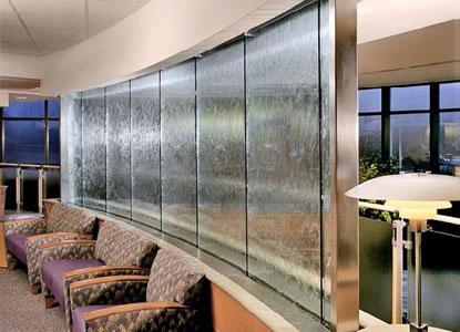cascadas interiores harmonic environments