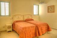 Habitación con dos camas Twin, Corte del Mar, Las Terrenas