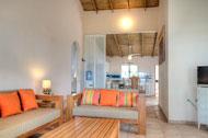 Salón de Areito Del Mar, apartamentos en Las Terrenas, Playa Las Ballenas